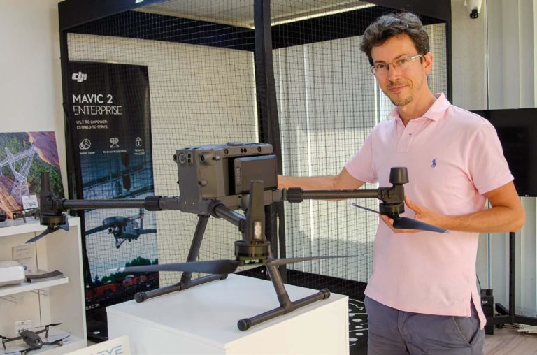 Devenir pilote de drone avec Flying Eye
